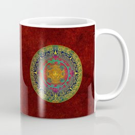 Aztec Sun God Coffee Mug
