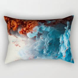 Collision II Rectangular Pillow