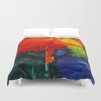 shell Duvet Covers featuring shell by sewec