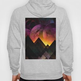 Whimsical mountain nights Hoody