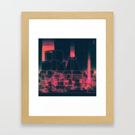 POLIS (everyday 02.18.16) Framed Art Print