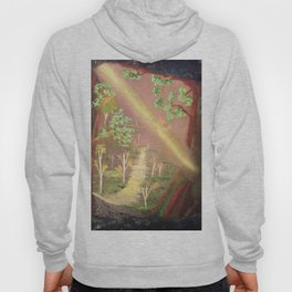 Faery forest cave Hoody