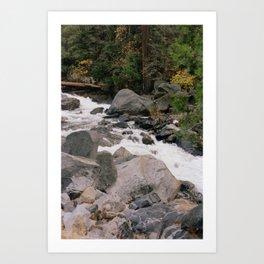 Roaring High Sierras Art Print