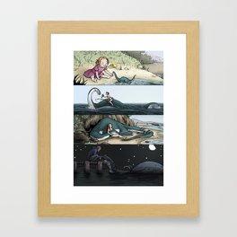 Monsters & Dames 2010 Framed Art Print