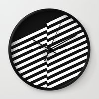 bands Wall Clocks featuring Blacknote Bands R. by blacknote