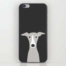 Cute Greyhound / Italian Greyhound iPhone Skin