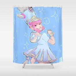 Nonon Jakuzure Shower Curtain