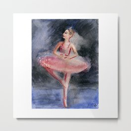 Sugar Plum Fairy Metal Print