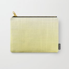 Modern hand painted yellow watercolor ombre pattern Carry-All Pouch