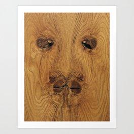 Lion Knot art Art Print