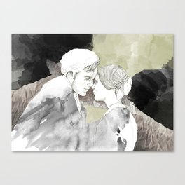 Jane Eyre Editorial #1 Canvas Print
