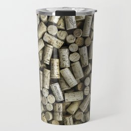 Wine Corks Travel Mug