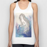 pisces Tank Tops featuring Pisces by katiwo