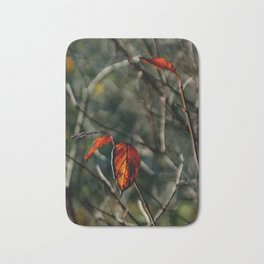 Autumns Last Dance Bath Mat