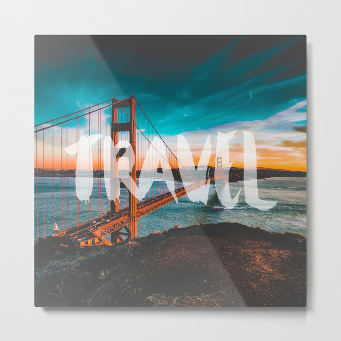 TRAVEL San Francisco Metal Print