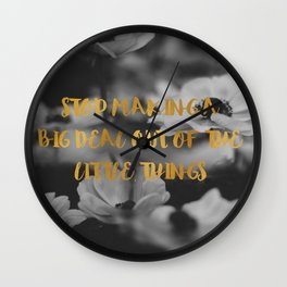 Big Deal Wall Clock
