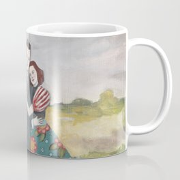 nigel and lily embrace as the storm passes by Coffee Mug