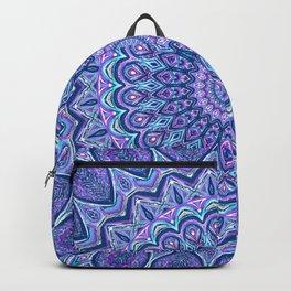 Purple Passion - Mandala Art Backpack