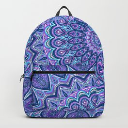 Purple Passion - Mandala Art Backpack
