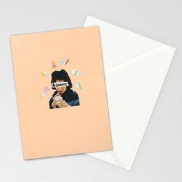 Bizarre Lipstick Stationery Cards