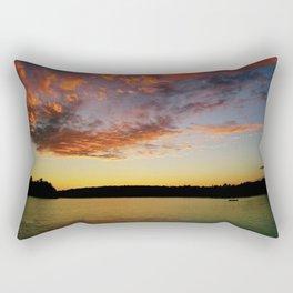 What A Sunset Rectangular Pillow