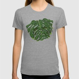 Monstera Pug T-shirt