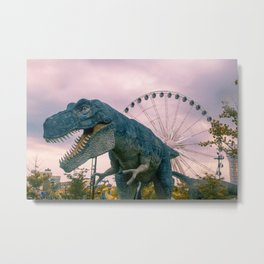 The Modern Dinosaur Metal Print