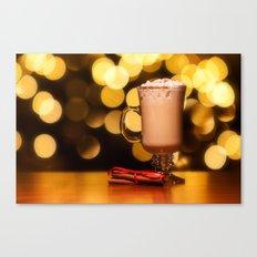Holiday Eggnog Canvas Print