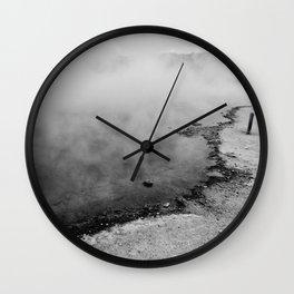 The Geyser Edge Wall Clock