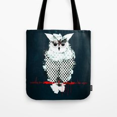 waiting for the night Tote Bag