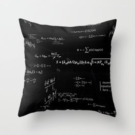 Mathspace - High Math Inspiration Throw Pillow