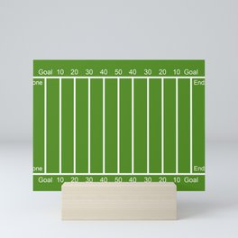 Football Field design Mini Art Print