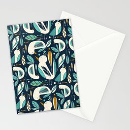 Feathered Flock Stationery Cards