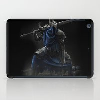 dark souls iPad Cases featuring Artorias (Dark Souls fanart) by Artur Jag