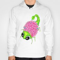 insect Hoodies featuring Flower Insect by KeijKidz