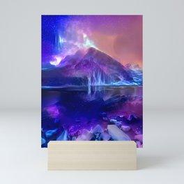 Lake Louise Twilight Melt Mini Art Print