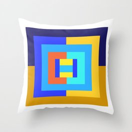 complementary Throw Pillow