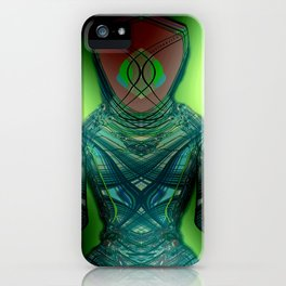 Alien Hostage  iPhone Case