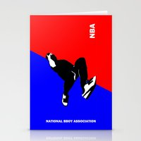 nba Stationery Cards featuring NBA National Bboy Association by Funky House