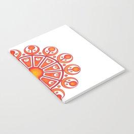 RadialDesignRed Notebook
