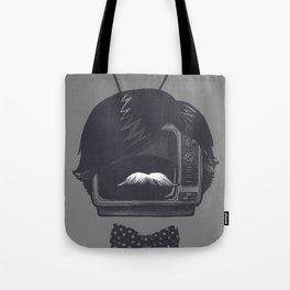 The Classiest TV Set Tote Bag