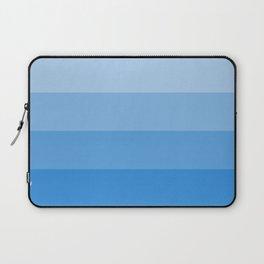 Four Shades of Light Blue Laptop Sleeve