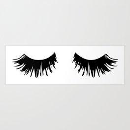 Eyelash Print Art Print