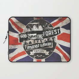 God save the forest Laptop Sleeve