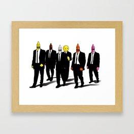 Reservoir Crayons Framed Art Print