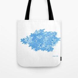 March's Blue 7 | Artline Drawing Pens Sketch Tote Bag