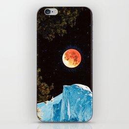 Half Dome Blood Moon Yosemite iPhone Skin