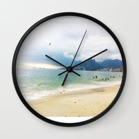 rio Wall Clocks featuring Rio by The Miniatures