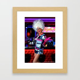 The Bella da Ball Framed Art Print