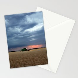 Harvest During A Storm Stationery Cards